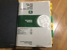 John Deere 9100 9200 9300 9400 Tractor Technical Operation Amp Test Manual Tm1624
