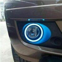 Car LD-90mm COB LED Round Angel Eyes Lights Daytime Running DRL Fog Driving TB