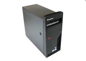 PC DESKTOP LENOVO M58E INTEL CORE 2 E5200 2GB RAM 500GB HD WINDOWS 10 WEBCAM