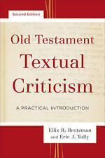 Antiguo Testamento crítica textual: una introducción práctica por Ellis R...