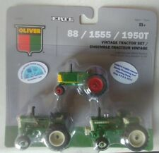 1/64 Oliver 3 piece tractor set. Mid Iowa Antique tractor show 2017. 1 of 30