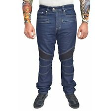 WICKED STOCK Motorcycle Riding Jeans Regular Fit with Removable Armor JP1