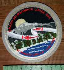 Grand Monadnock Lodge 309, Chenille Patch, 10 Years of Service 1994-2004