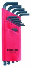 Bondhus ProGuard Ballpoint Long Metric Hex Allen Key Set 15 Ball End Hexagon