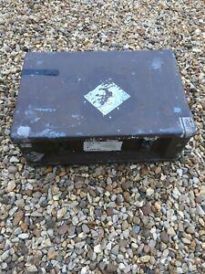 Ammo Box Large British Army Metal Tin Surplus Storage L54 X W37 X H20 CM