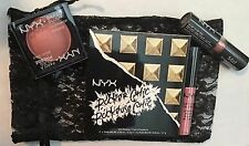 NYX Professional Makeup 4 Products!Lip Cream/Lipstick/Shadow Palette/Blush Combo
