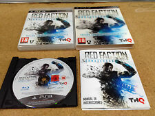 RED FACTION ARMAGEDON ** PLAYSTATION 3 ** PAL ESP VERSION