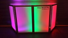 Equinox Style Foldable DJ Screen / Lightscreens For Disco Deck Stands/GLOW BOOTH