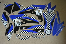ONE INDUSTRIES CHECKERS TEAM  GRAPHICS  YAMAHA YZ250F YZF250  10  2011 2012 2013