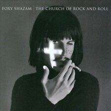FOXY SHAZAM - The Church of Rock and Roll (CD, 2012, I.R.S. Records)