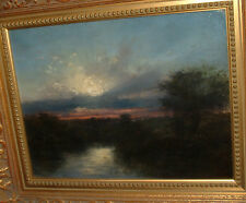 19TH CENTURY EARLY IMPRESSIONIST OIL SIGNED