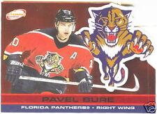 2001-02 PACIFIC ATOMIC RED PAVEL BURE #218/290 * Florida Panthers