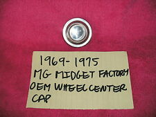1969-1975 MG MIDGET GENUINE FACTORY OEM WHEEL CENTER CAP RARE FREE SHIPPING!