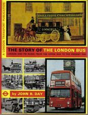 Story of the London Bus by Day Horse Drawn to 1973 Tram Trolleybus Underground +