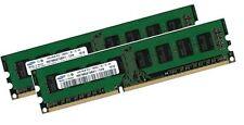 2x 4GB 8GB RAM DDR3 1600 MHz Fujitsu-Siemens CELSIUS C620 D3188 RACK Samsung