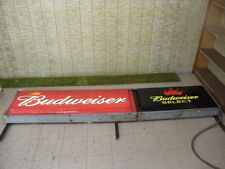 10' BUDWEISER / BUD SELECT OUTDOOR SIGN