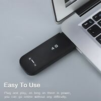 Smart 4G LTE WIFI Wireless USB Dongle Mobile Broadband 100Mbps Modem Sim Card