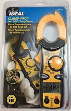 NEW IDEAL INDUSTRIES 61-744 600-amp Clamp-pro Clamp Meter