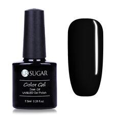 7.5ml Black Color Soak Off UV Gel Polish Manicure Nail Art LED Lamp Gel Shiny