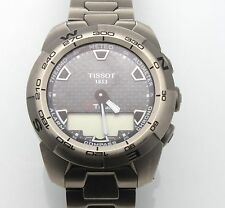 Authentic Tissot Men's T013420A T Touch Expert TITANIUM Sport Watch w/ Box SIZE8