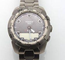 Authentic Tissot Men's T013420A T Touch Expert TITANIUM Sport Watch w/ Box SIZE8