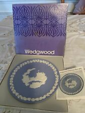 Wedgewood Christmas Plate Windsor Castle 1969