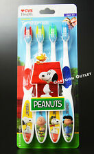 SNOOPY TOOTHBRUSH SET PEANUTS CHARLIE BROWN LUCY GIFT CHILDREN'S TOOTHBRUSH
