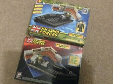 CHARACTER BUILDING H.M. ARMED FORCES  - ROYAL NAVY ASSAULT RIB SET