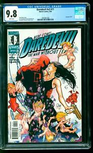 Daredevil 11 CGC 9.8 NM/M Echo app David Mack & Joe Quesada cover Marvel