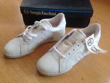 OG 1990s Sergio Tacchini Player vintage shoes size US5.5 Unworn & boxed. RARE!!!