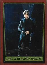 1999 Topps Star Wars Chrome Archives #79 Luke Skywalkers Destiny > Mark Hamill