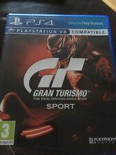 Gran Turismo Sport PS4 (GT Sport) VR Compatible Vgc
