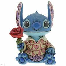 2019 Disney Traditions Valentines Stitch Figurine 6001280 Clueless Casanova