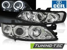 Headlights For OPEL VECTRA B 99-03.02 ANGEL EYES CCFL CHROME..