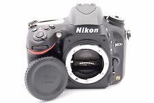 Nikon D600 24.3 MP 3.2'' Screen DSLR Camera Body Only - SHUTTER COUNT 1103