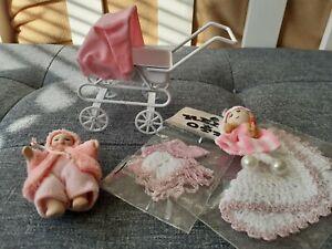 Dolls house miniatures mixed lot