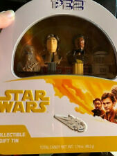 PEZ Candy Star Wars Han Solo Gift Tin with 4 Candy Dispensers Collectable