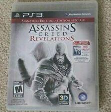 Assassin's Creed Revelations Signature Edition PS3 MINT Disc Complete CIB!!!