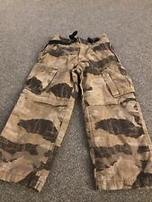 Boys Llined Camoflounge Trousers Age 5