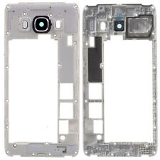 For Samsung Galaxy J5 2016 J510 Middle Frame Chassis Housing Camera Lens Black