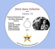 "DVD ""Doctor Nicholson and the Blue Diamond"" (1913) Classic Danish Silent Drama"