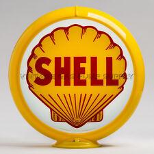 "Shell 13.5"" Gas Pump Globe w/ Yellow Plastic Body (G175)"