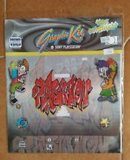 1998 PS1 Graphic Kit GRAFFITI RAPPER Cover Playstation Vintage Sony Videogame 1