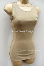 Karen Millen Women's Sleeveless Fitted Vest Top, Strappy, Cami Tops & Shirts