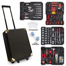 969 tlg Blackline Alu Werkzeugkoffer Werkzeug Werkzeugbox Werkzeugtrolley