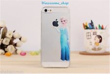 FROZEN! Princess Elsa Cover Case for iPhone 4 4S Matte Transparent + FREE GIFT
