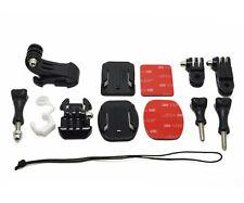Grab Bag of Mounts Kit For GoPro Hero 1 2 3 3+ 4 Go Pro HD Camera SJ4000 Camera