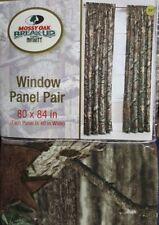 New!Mossy Oak window Panels pair Decor Drapes 80 in x 84 in  Camo heavy duty