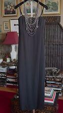Vintage Gianni Versace Couture suit dress gown w/ necklace $4800, sz 40 / 2-4