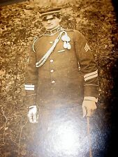WW1 Military US Army Sargent Dress uniform picture photo